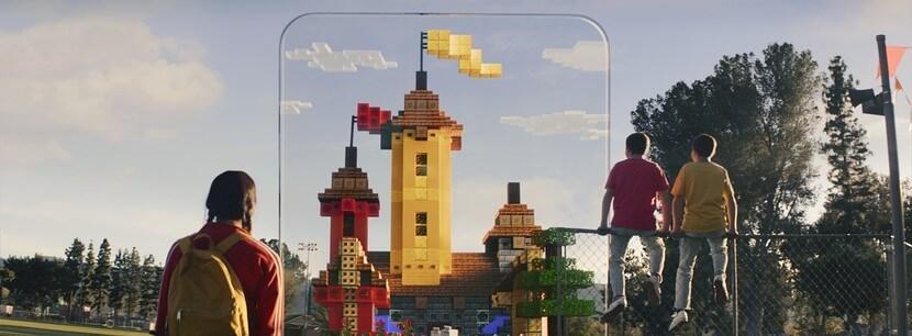 Minecraft Earth mở ra một thế giới diệu kỳ giữa đời thực