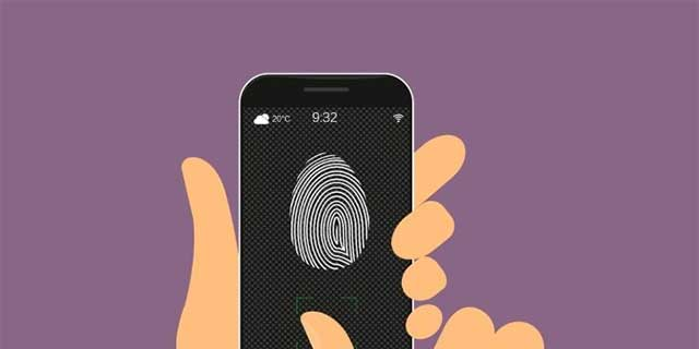 Ứng dụng sử dụng dữ liệu cảm biến chuyển động để lấy dấu vân tay của bạn