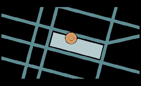 icon biểu thị vị trí PokéStop trên bản đồ