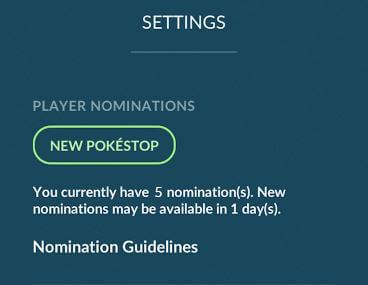 Tạo PokéStop mới