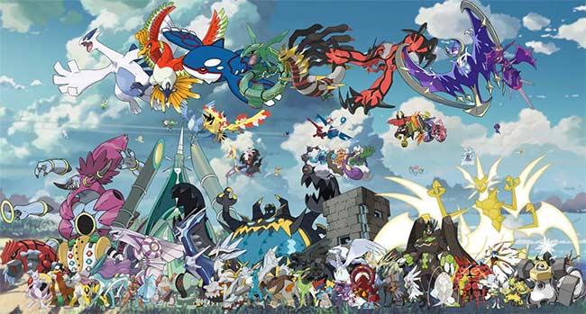 Tìm hiểu về Pokémon Huyền Thoại