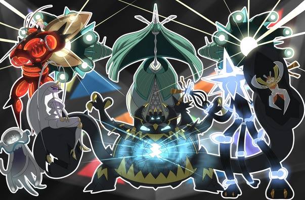 Danh sách Pokemon Ultra Beasts