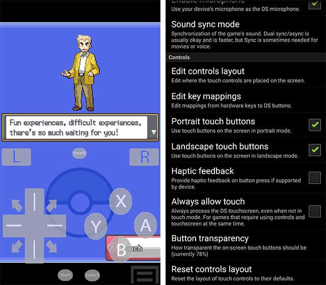 nds4droid là ứng dụng giả lập game cổ miễn phí trên Android