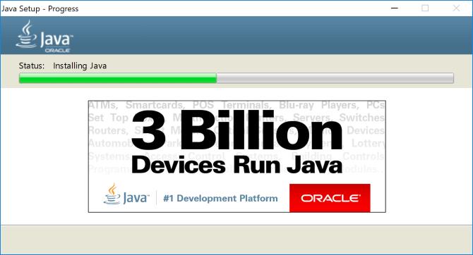 Trình cài đặt Java