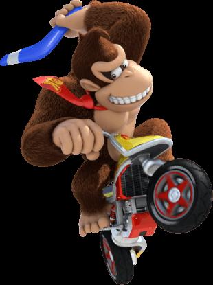 Nhân vật Donkey Kong trong Mario Kart Tour