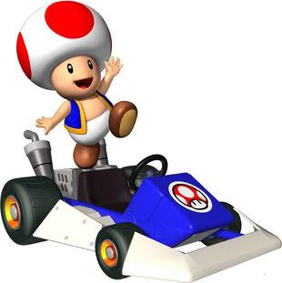 Nhân vật Toad trong Mario Kart Tour