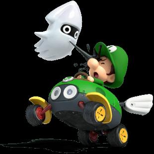 Baby Luigi trong Mario Kart Tour 17