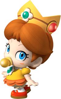 Nhân vật Baby Daisy trong Mario Kart Tour