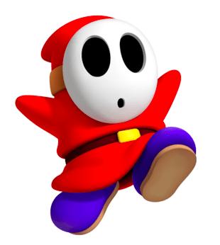 Nhân vật Shy Guy trong Mario Kart Tour