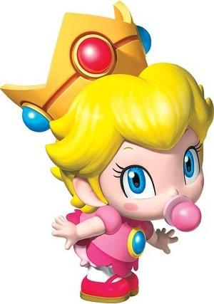 Nhân vật Baby Peach trong Mario Kart Tour