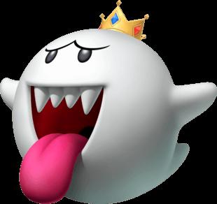 Nhân vật King Boo trong Mario Kart Tour