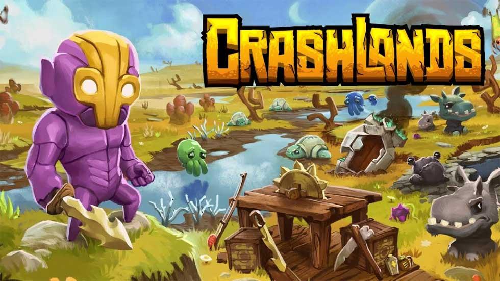 Game phiêu lưu hành động đặc sắc Crashlands