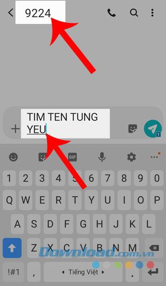 Soạn tin nhắn tìm mã số bài hát