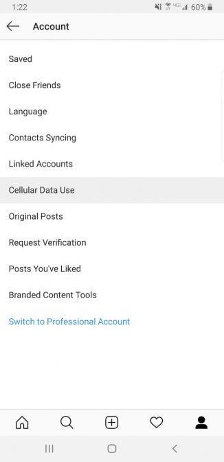 Dùng Instagram tiết kiệm dữ liệu hơn