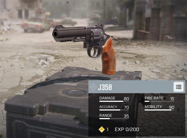 Súng côn J58 trong Call of Duty: Mobile
