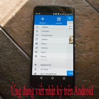 TOP ứng dụng viết nhật ký hay nhất trên Android