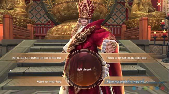 Game cho phép người chơi tự tạo ra cốt truyện riêng của mình