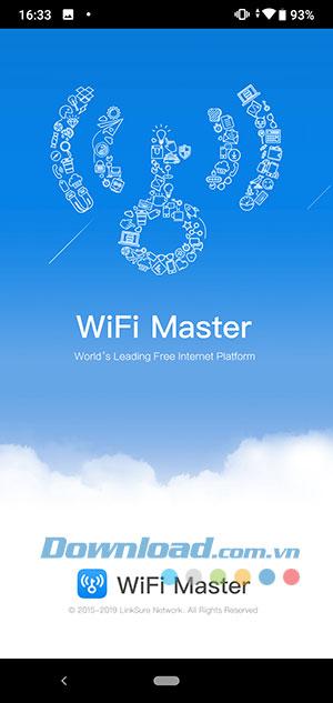 Kết nối ứng dụng Wifi chìa khóa vạn năng