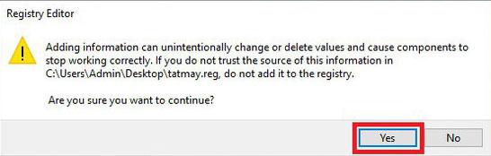 Xác nhận file đã tạo ngoài màn hình Desktop