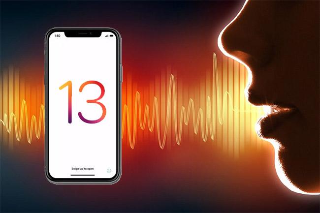 Cách sử dụng Voice Control điều khiển điện thoại iPhone