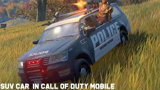 Xe SUV trong Call of Duty: Mobile