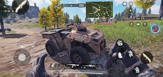 Xe bọc thép trong Call of Duty: Mobile