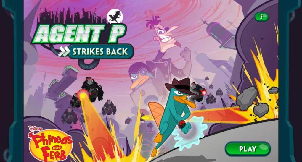 Agent P Strikes Back dựa trên seri phim hoạt hình nổi tiếng