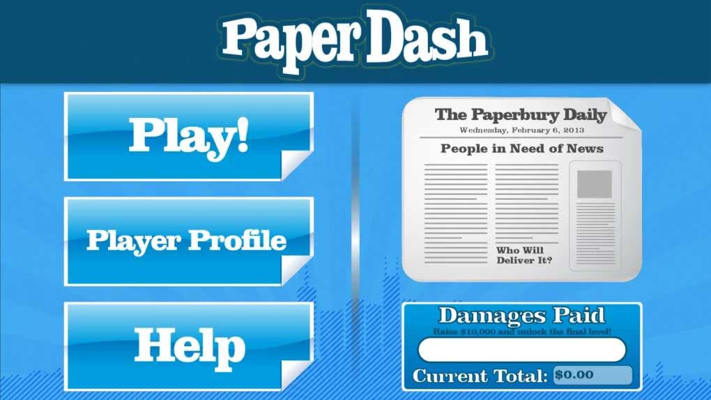 Paper Dash thích hợp giải trí trong thời gian ngắn
