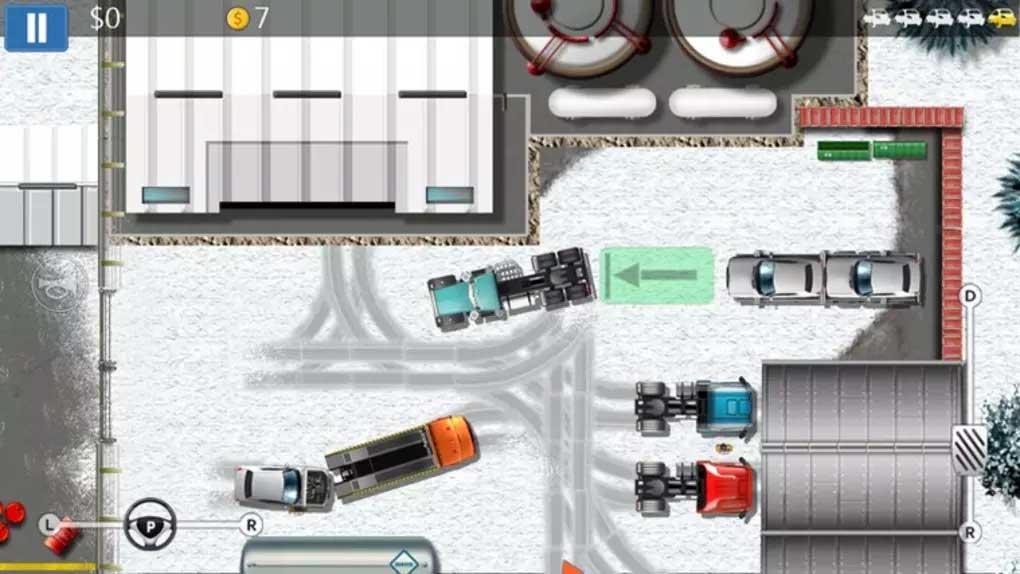 Parking Mania thử thách tài đỗ xe của bạn