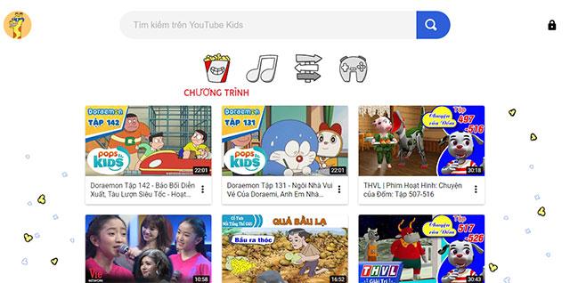 YouTube Kids - kênh YouTube dành cho trẻ em với nội dung chọn lọc, phù hợp với lứa tuổi