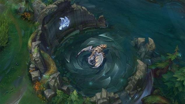 Rồng gió tạo những cơn lốc xoáy khu vực hang rồng
