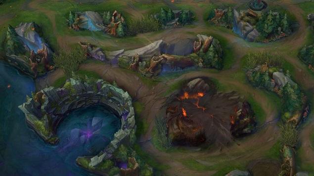 Rồng lửa phun dung nham phá hủy ngẫu nhiên địa hình trên bản đồ