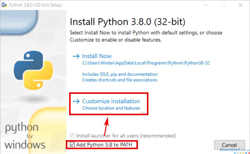 Cài đặt Python
