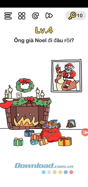 Đáp án Brain Out chủ đề Giáng Sinh 4