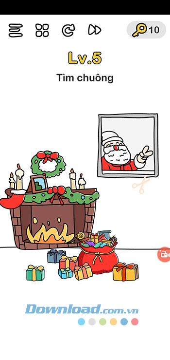 Đáp án Brain Out chủ đề Giáng Sinh 5