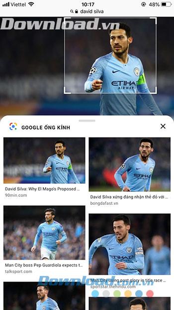 Kết quả Google ống kính