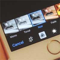 Cách thêm bộ lọc ảnh vào Photos trên iPhone