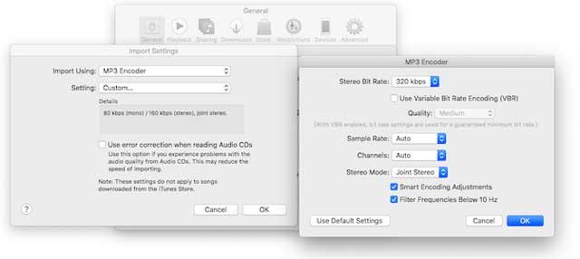 Nếu cài iTunes, bạn có thể dễ dàng nén file audio trên công cụ này