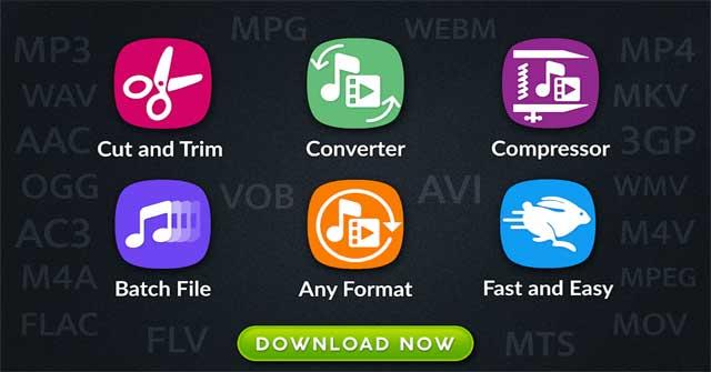 Audio Video Manager là một ứng dụng nén file khá tốt