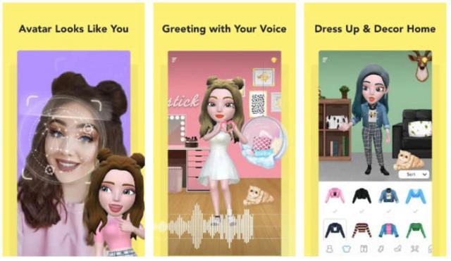 Tạo avatar giống mình bằng Boomoji