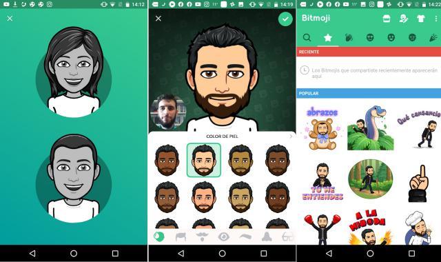 Bitmoji cho phép bạn dùng avatar trên các dịch vụ trực tuyến khác