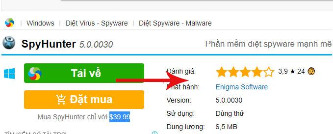 Cách thiết lập và dùng SpyHunter diệt spyware, chống keylogger update 1