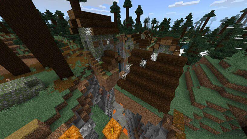 Seed ngôi làng ma ám trong Minecraft