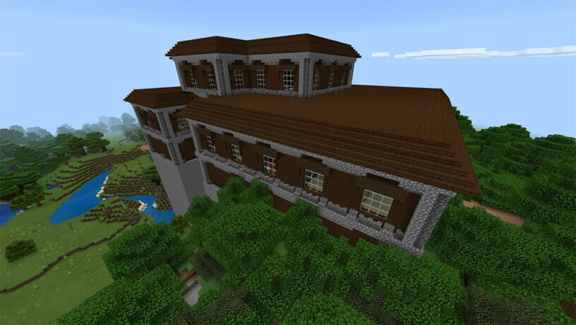 Seed biệt thự lớn trong Minecraft
