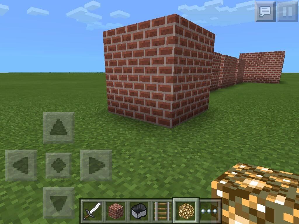 Phía sau ngôi nhà hạnh phúc trong Minecraft