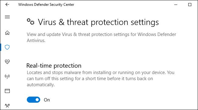 Cài đặt bảo vệ chống virus cho máy tính