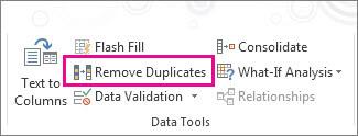 Loại bỏ trùng lặp trên Excel