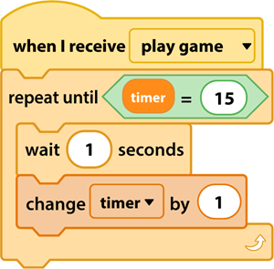 Kịch bản Timer cho game trong Sketch