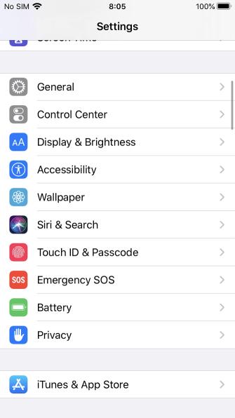 Giảm độ sáng màn hình iPhone nhanh