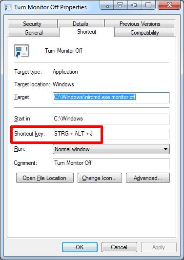 Gán phím tắt cho phần mềm trên Windows 10